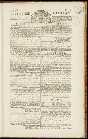 Alkmaarsche Courant 1851-03-24