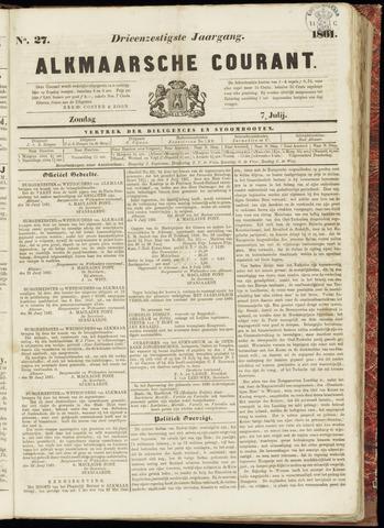 Alkmaarsche Courant 1861-07-07