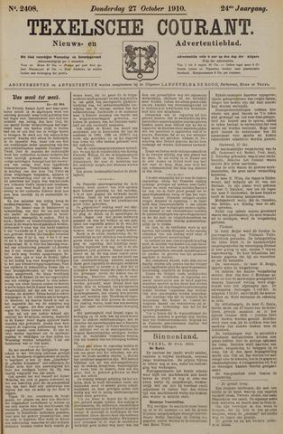 Texelsche Courant 1910-10-27