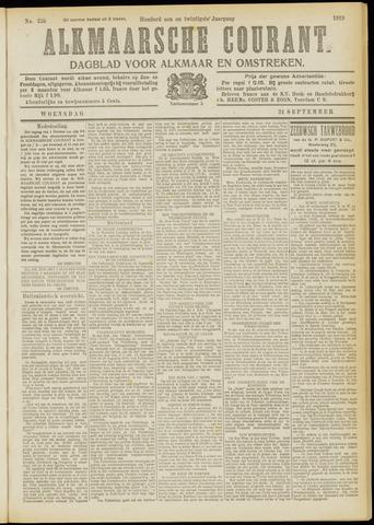 Alkmaarsche Courant 1919-09-24