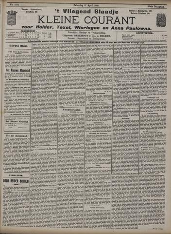 Vliegend blaadje : nieuws- en advertentiebode voor Den Helder 1909-04-17
