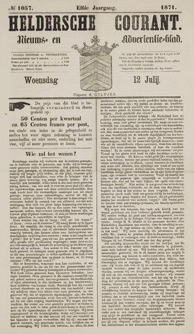 Heldersche Courant 1871-07-12