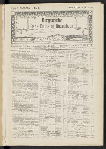 Bergensche bad-, duin- en boschbode 1919-05-31
