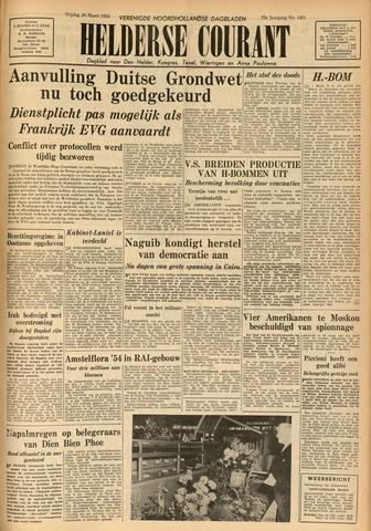 Heldersche Courant 1954-03-26