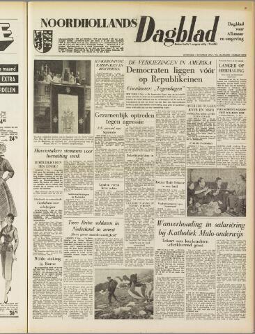 Noordhollands Dagblad : dagblad voor Alkmaar en omgeving 1954-11-03