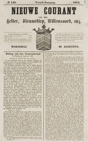 Nieuwe Courant van Den Helder 1862-08-20