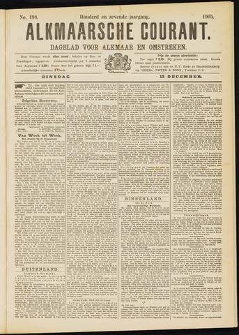 Alkmaarsche Courant 1905-12-12