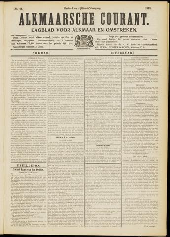 Alkmaarsche Courant 1913-02-21