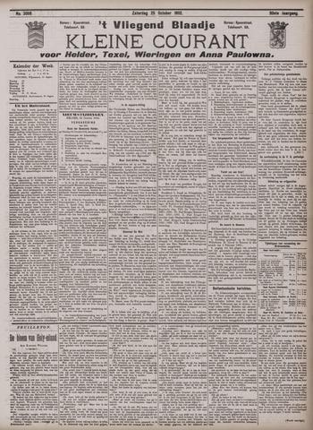 Vliegend blaadje : nieuws- en advertentiebode voor Den Helder 1902-10-25