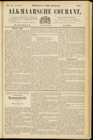 Alkmaarsche Courant 1903-05-13