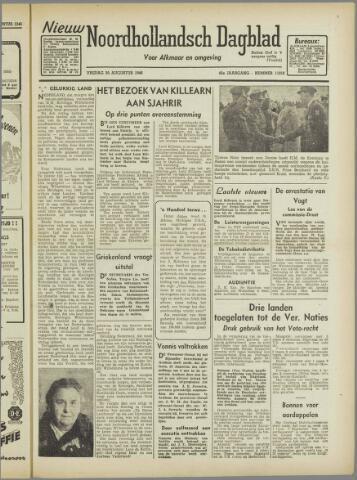 Nieuw Noordhollandsch Dagblad : voor Alkmaar en omgeving 1946-08-30