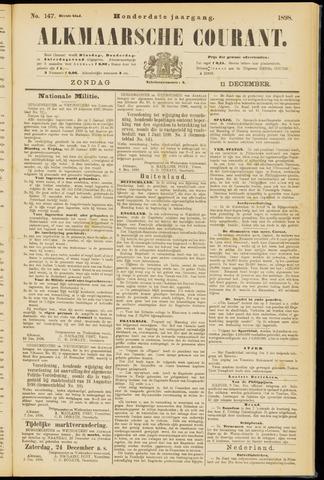 Alkmaarsche Courant 1898-12-11