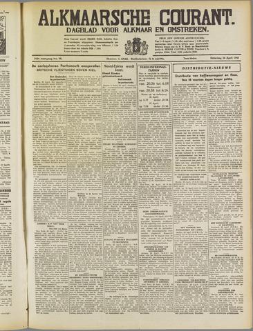 Alkmaarsche Courant 1941-04-26