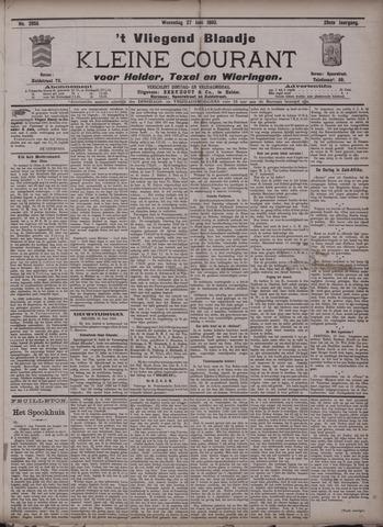 Vliegend blaadje : nieuws- en advertentiebode voor Den Helder 1900-06-27