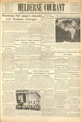 Heldersche Courant 1953-03-09