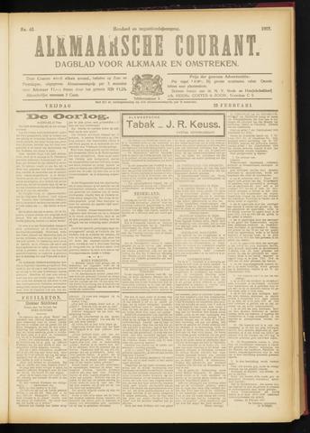 Alkmaarsche Courant 1917-02-23