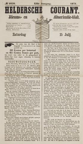 Heldersche Courant 1871-07-15