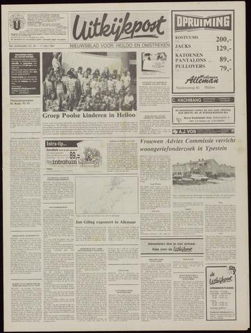 Uitkijkpost : nieuwsblad voor Heiloo e.o. 1991-07-17
