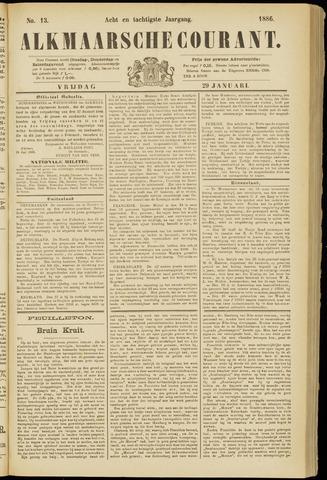 Alkmaarsche Courant 1886-01-29