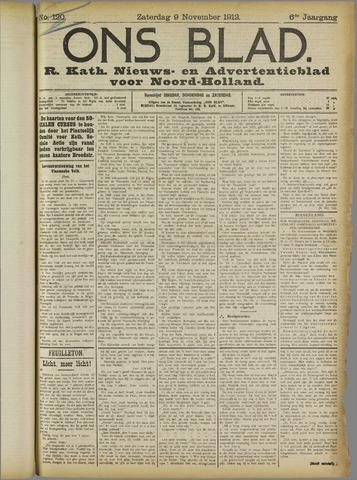 Ons Blad : katholiek nieuwsblad voor N-H 1912-11-09