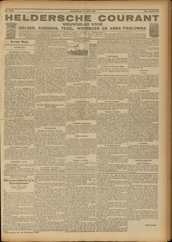 Heldersche Courant 1921-07-21