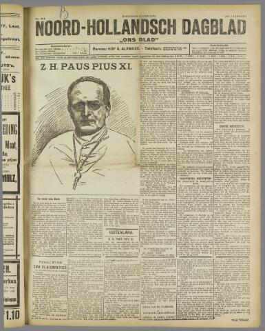 Ons Blad : katholiek nieuwsblad voor N-H 1922-02-08