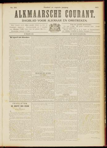 Alkmaarsche Courant 1907-11-29