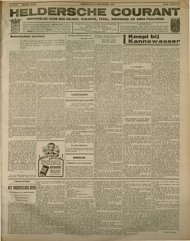 Heldersche Courant 1931-09-03