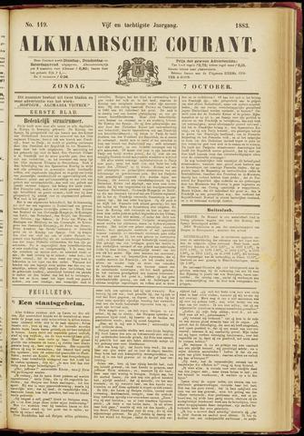 Alkmaarsche Courant 1883-10-07