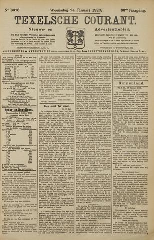 Texelsche Courant 1923-01-24