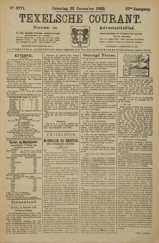 Texelsche Courant 1923-12-22