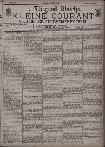 Vliegend blaadje : nieuws- en advertentiebode voor Den Helder 1887-05-18