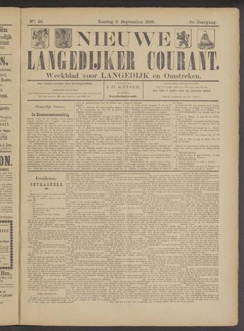 Nieuwe Langedijker Courant 1896-09-06