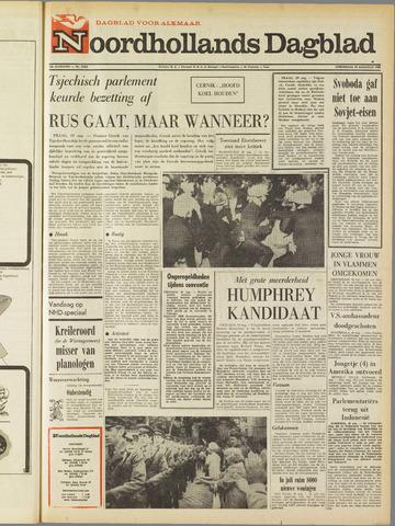 Noordhollands Dagblad : dagblad voor Alkmaar en omgeving 1968-08-29