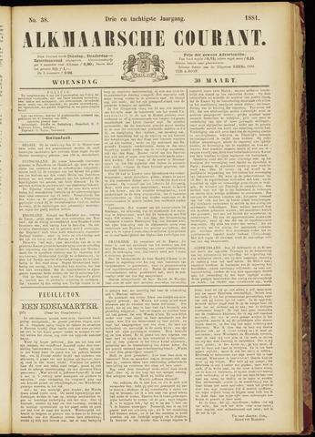Alkmaarsche Courant 1881-03-30