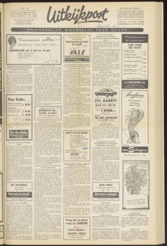 Uitkijkpost : nieuwsblad voor Heiloo e.o. 1969-06-11