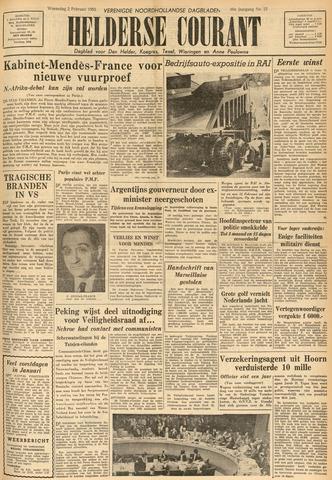 Heldersche Courant 1955-02-02