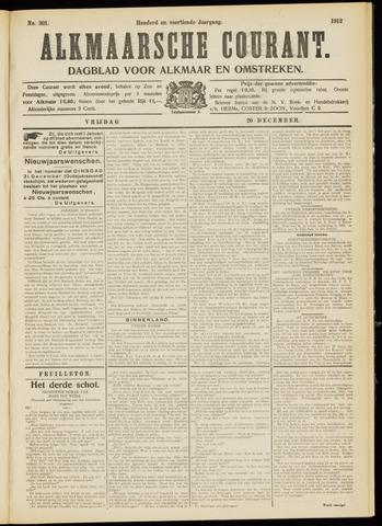 Alkmaarsche Courant 1912-12-20