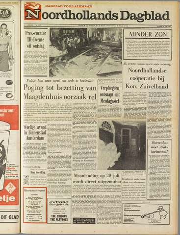 Noordhollands Dagblad : dagblad voor Alkmaar en omgeving 1969-06-13