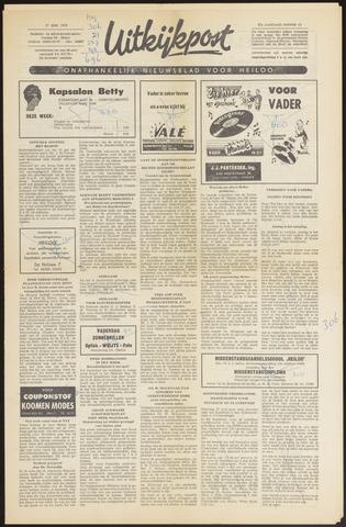 Uitkijkpost : nieuwsblad voor Heiloo e.o. 1970-06-17