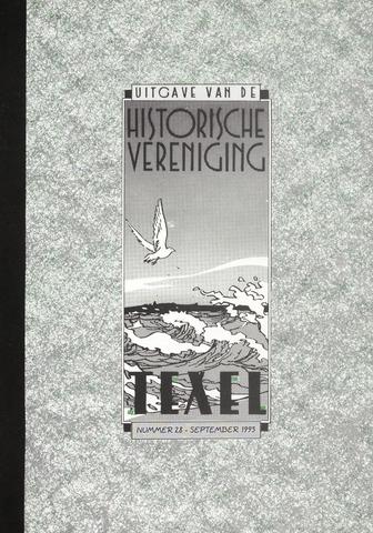 Uitgave Historische Vereniging Texel 1993-09-01