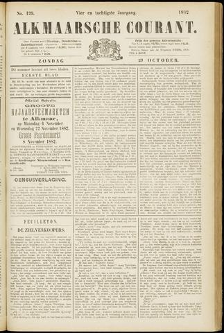 Alkmaarsche Courant 1882-10-29