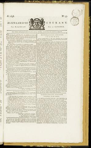 Alkmaarsche Courant 1838-09-10