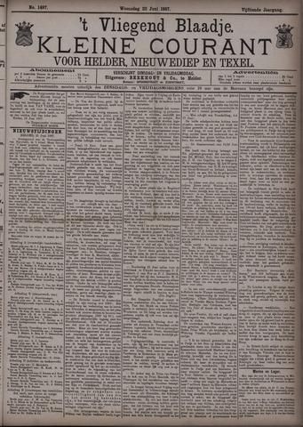 Vliegend blaadje : nieuws- en advertentiebode voor Den Helder 1887-06-22