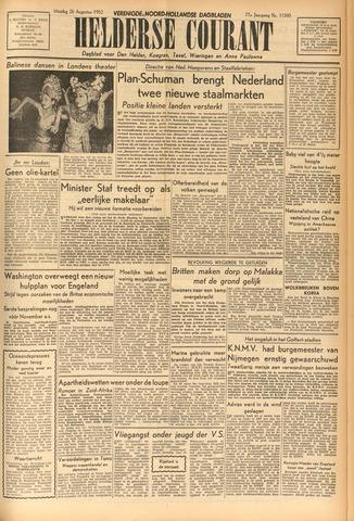 Heldersche Courant 1952-08-26