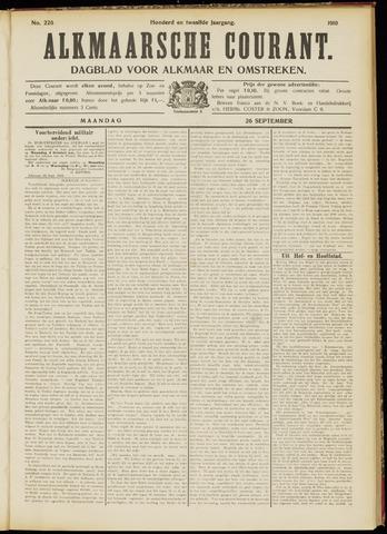 Alkmaarsche Courant 1910-09-26