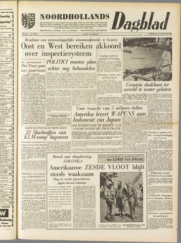 Noordhollands Dagblad : dagblad voor Alkmaar en omgeving 1958-08-20