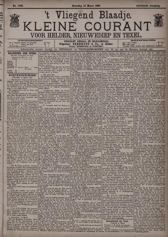 Vliegend blaadje : nieuws- en advertentiebode voor Den Helder 1890-03-15