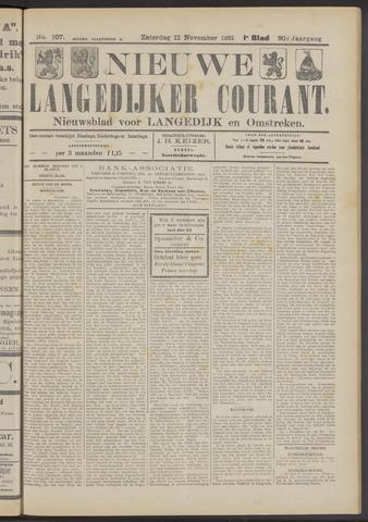 Nieuwe Langedijker Courant 1921-11-12