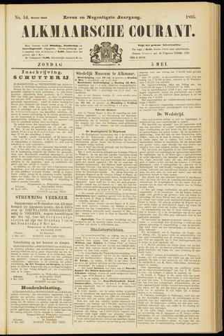 Alkmaarsche Courant 1895-05-05